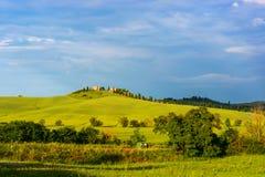Schöne Toskana-Landschaft Stockbild