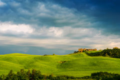 Schöne Toskana-Landschaft Stockfotos