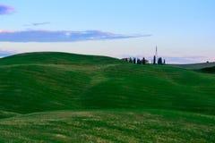 Schöne Toskana-Landschaft Lizenzfreies Stockfoto