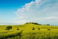 Schöne Toskana-Landschaft Stockbilder