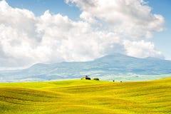 Schöne toskanische Landschaftsansicht Lizenzfreies Stockbild
