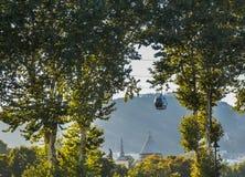 Schöne und alte Stadt von Tiflis Stockfotografie