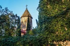 Schöne und alte Stadt von Tiflis Lizenzfreies Stockfoto