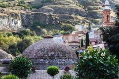 Schöne und alte Stadt von Tiflis Stockfotos