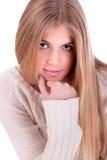 Schöne und elegante junge Frau lizenzfreies stockbild
