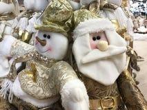 Schöne und glänzende Weihnachtsspielwaren Lizenzfreies Stockfoto
