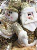 Schöne und glänzende Weihnachtsspielwaren Stockbild
