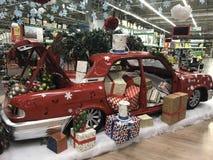 Schöne und glänzende Weihnachtsspielwaren, Dekoration Stockfoto
