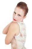 Schöne und glückliche Mittleralter Frau lizenzfreie stockfotografie