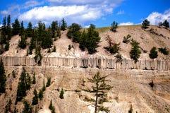 Schöne und interessante geologische Anordnung Stockbild