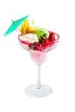 Schöne und köstliche Eiscreme lizenzfreie stockfotos