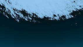 Schöne Unterwasserseeszenenansicht stock video