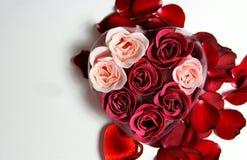Schöne Valentinsgrußzusammensetzung lizenzfreie stockbilder