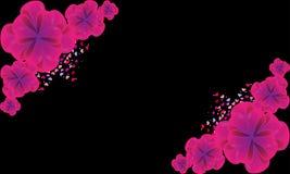 Schöne Vektorbögen Bonbons von den kleinen Herzen Stockfotografie