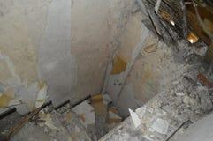 Schöne verlassene Kneipe Stockbild