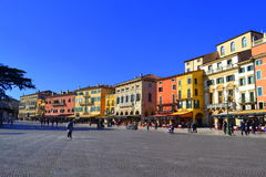 Schöne Verona-Ansicht, Italien Lizenzfreies Stockfoto