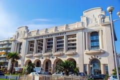 Schöne verschiedene Architektur von Nizza, Frankreich Lizenzfreie Stockfotos