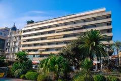 Schöne verschiedene Architektur von Nizza, Frankreich Stockbilder