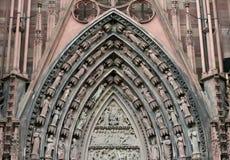 Schöne Verzierung von den bildhauerischen Abbildungen auf Ca Stockbild