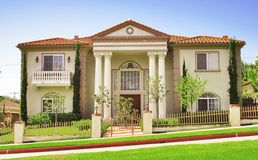 Schöne Villa 2 von 5 Stockfotos