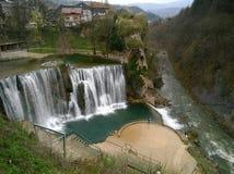 Schöne Wasserfälle stockfoto
