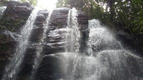 Schöne Wasserfälle in Sri Lanka stockfotos