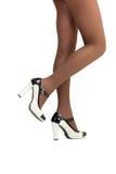 Schöne weibliche Beine Stockfotografie