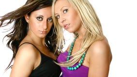 Schöne weibliche Freunde Lizenzfreies Stockfoto