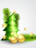 Schöne Weihnachtsauslegung lizenzfreie abbildung