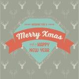 Schöne Weihnachtsbaumabbildung lizenzfreie abbildung