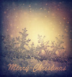 Schöne Weihnachtsbaumabbildung Stockfoto