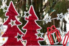 Schöne Weihnachtsdekoration stockfoto