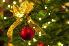 Schöne Weihnachtsdekoration stockbilder