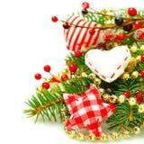 Schöne Weihnachtsdekoration lizenzfreie stockfotos