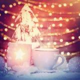 Schöne Weihnachtsnoch Lebensdauer Lizenzfreie Stockfotografie