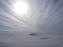 Schöne Winterlandschaft Lizenzfreie Stockbilder