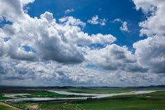 Schöne Wolke Stockfotografie