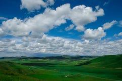 Schöne Wolke Stockbild