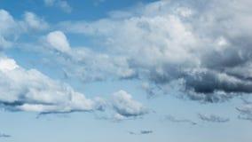 Schöne Wolken Stockbild