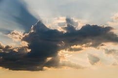 Schöne Wolken Stockfotografie