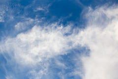 Schöne Wolken am Sonnenuntergang Lizenzfreie Stockfotografie