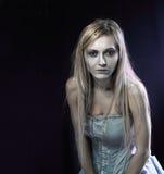 Schöne Zombieleichenbraut Lizenzfreie Stockbilder