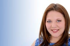 Schöne Zwanzig Einjahresjunge Frau Lizenzfreie Stockbilder