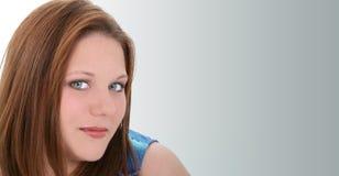 Schöne Zwanzig Einjahresjunge Frau Stockfoto