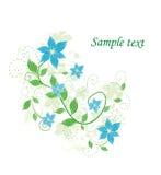 Schöner abstrakter Blumenhintergrund Lizenzfreie Stockfotografie