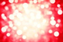 Schöner abstrakter boke Hintergrund mit De fokussierte bokeh Lichter Lizenzfreies Stockbild