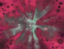 Schöner abstrakter Fantasiehintergrund Stockbild