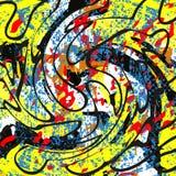 Schöner abstrakter Hintergrund der Graffiti Lizenzfreies Stockbild