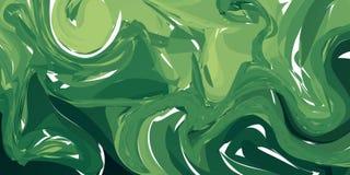 Schöner abstrakter vektorhintergrund Kann als Hintergrund verwendet werden Flüssige Farbe stock abbildung