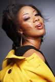 Schöner African-American girl.2. Lizenzfreie Stockbilder